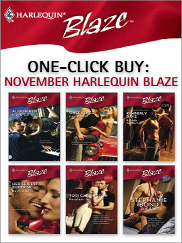 One-Click Buy: November Harlequin Blaze