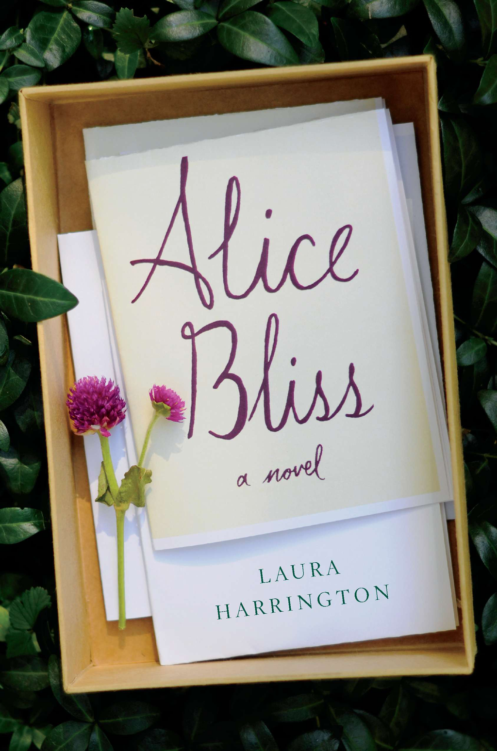 Alice Bliss By: Laura Harrington