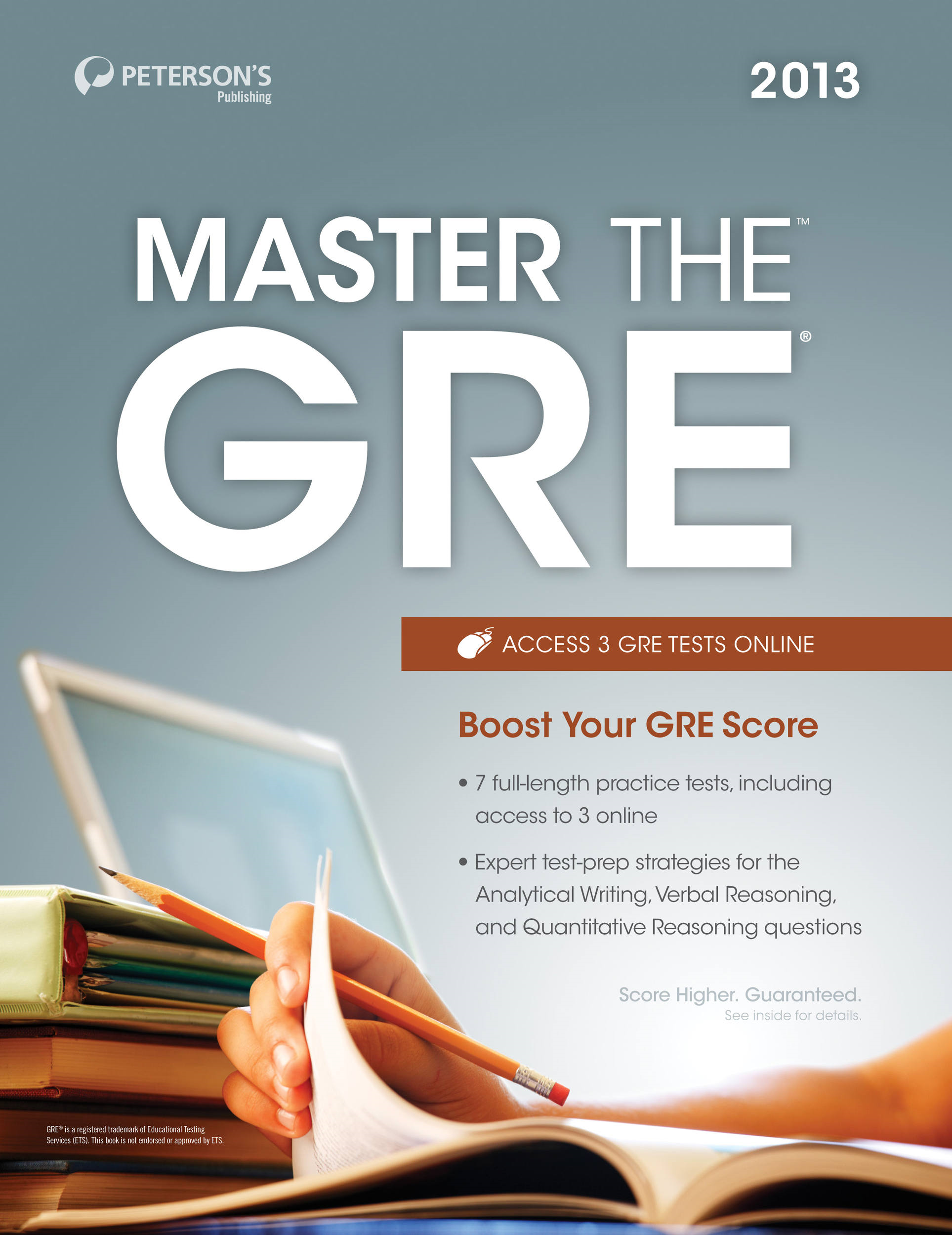 Master the GRE 2013 By: Peterson's