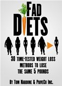 online magazine -  Fad Diets - 30 Time-Tested Weight Loss Methods to Lose the Same 5 Pounds