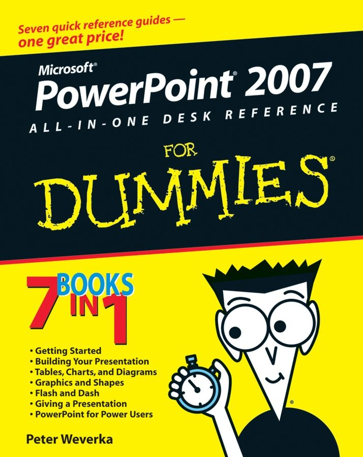 PowerPoint 2007 All-in-One Desk Reference For Dummies