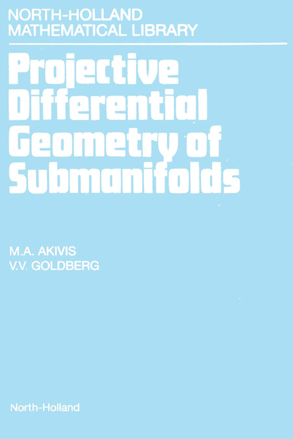 Projective Differential Geometry of Submanifolds