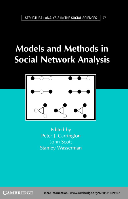 Models and Methods in Social Network Analysis By: Carrington, Peter J.