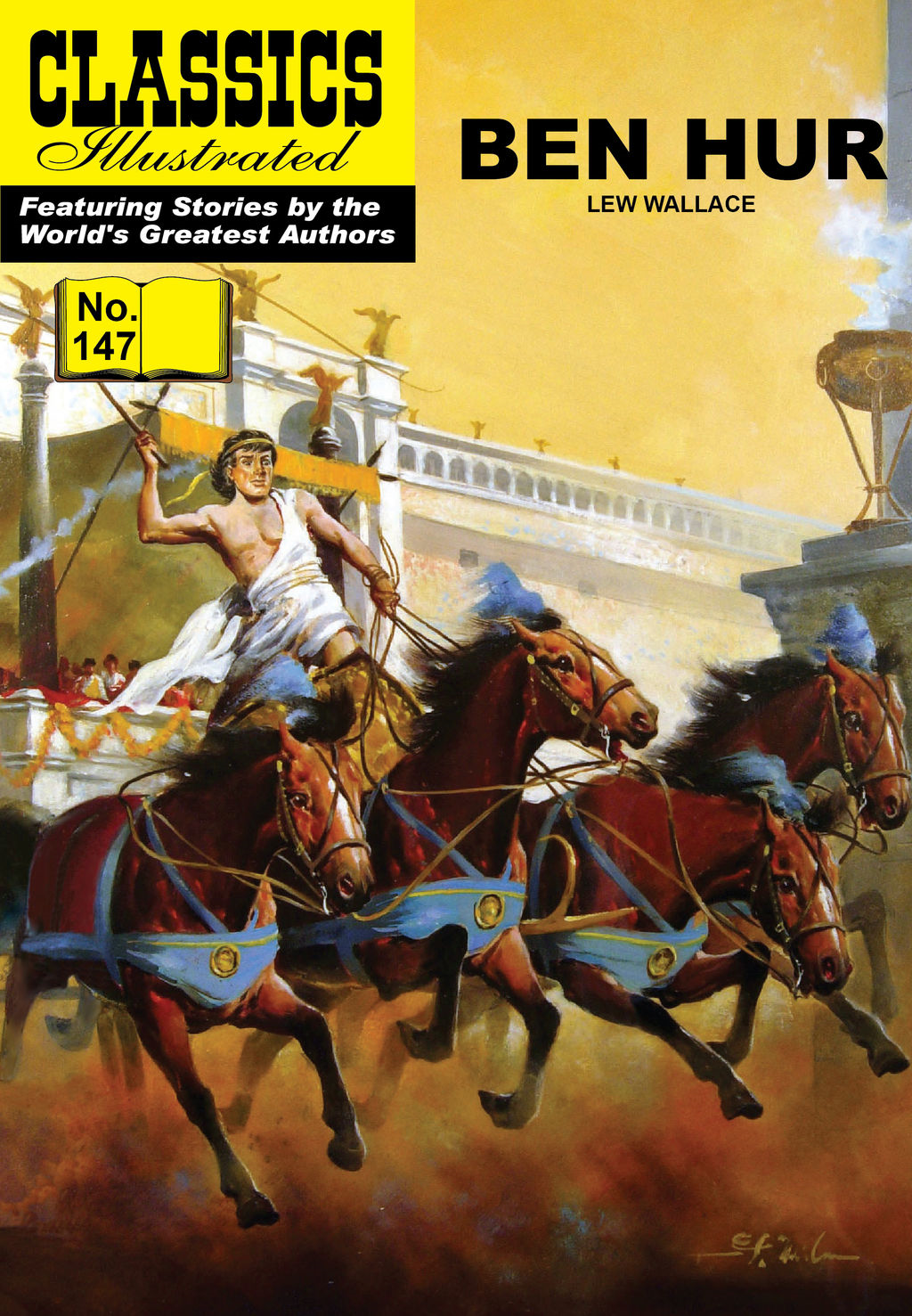 Ben Hur - Classics Illustrated #147
