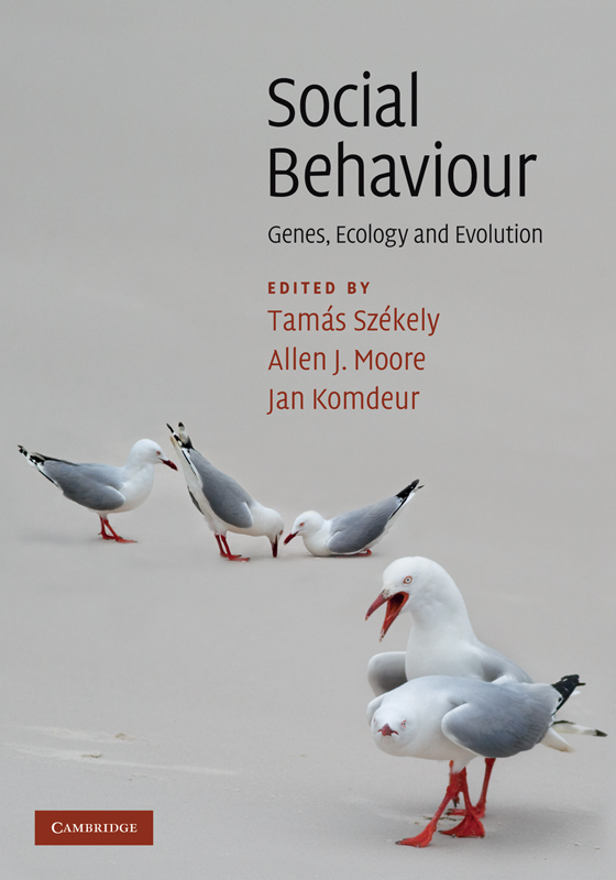 Social Behaviour Genes,  Ecology and Evolution