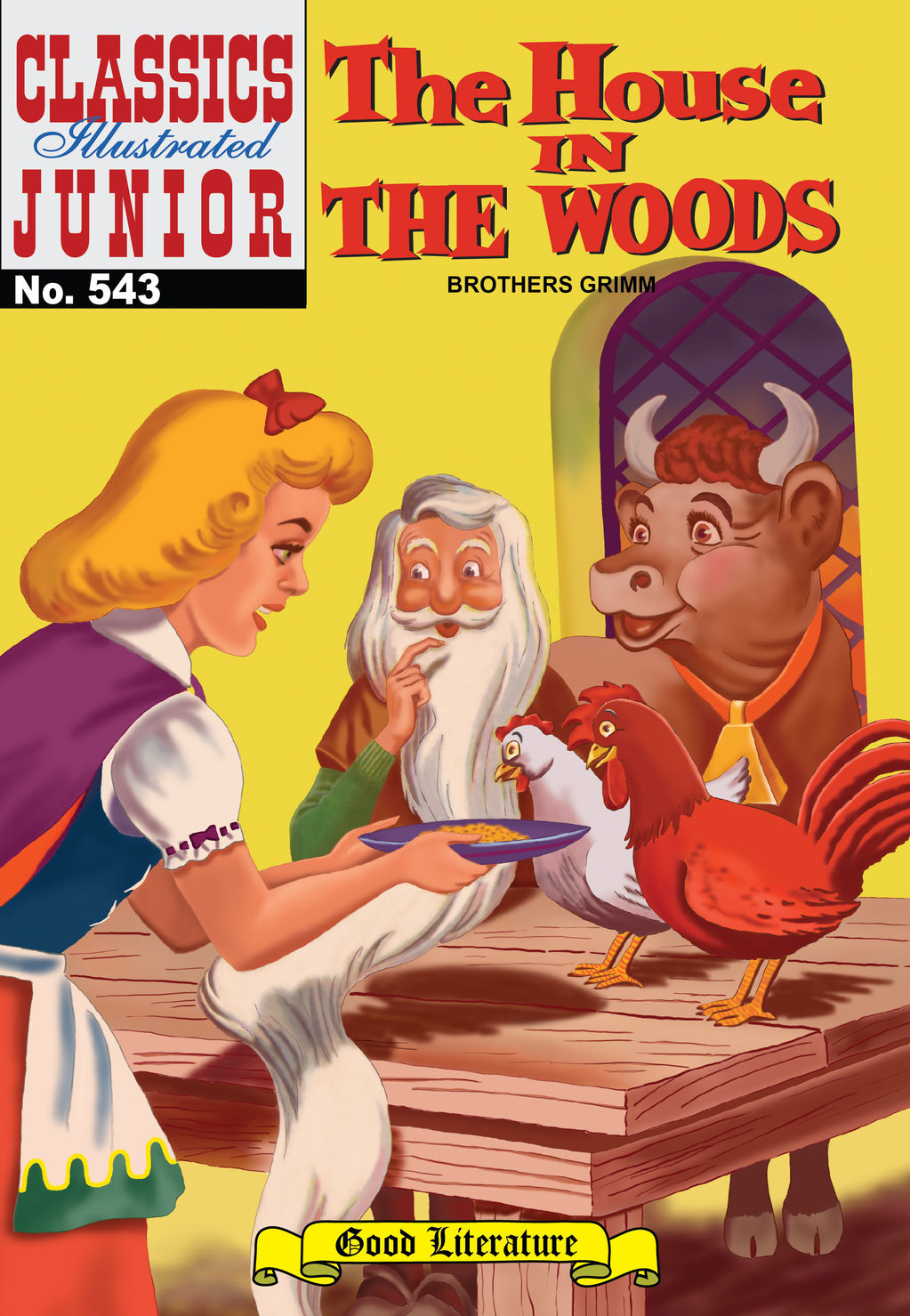 House in the Woods - Classics Illustrated Junior #543 By: Grimm Brothers