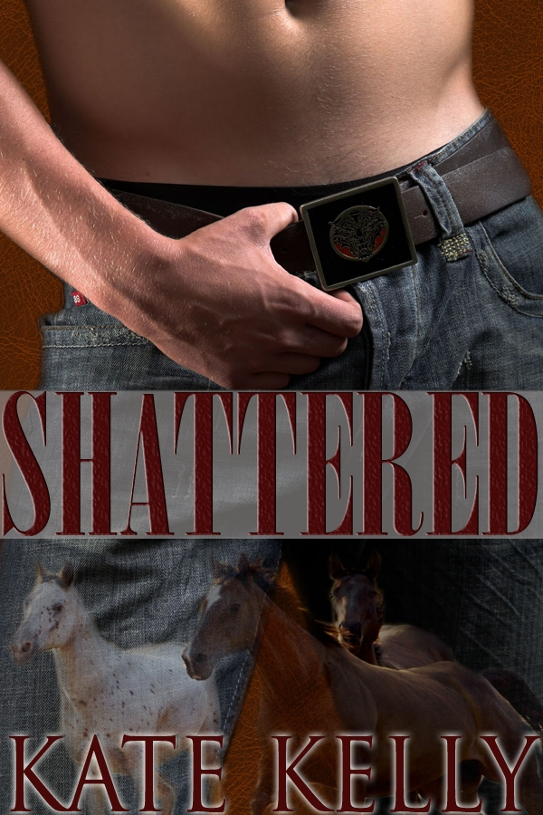 Shattered, a western romantic suspense