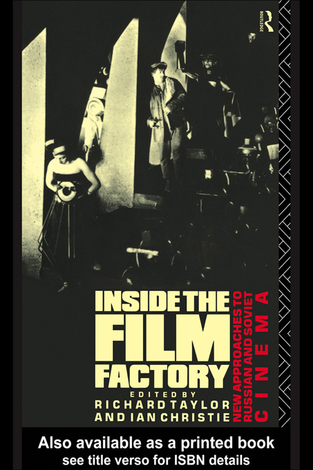 Inside the Film Factory By: