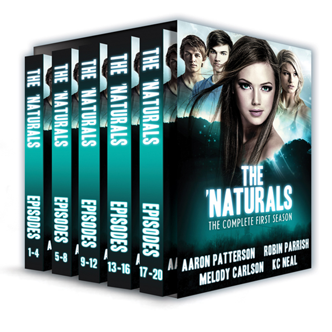 Melody Carlson, Robin Parrish & K.C. Neal  Aaron Patterson - The 'Naturals: Awakening (for fans of Veronica Roth, James Dashner, Brandon Sanderson)