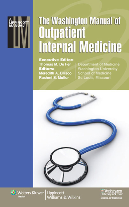 Washington Manual® of Outpatient Internal Medicine