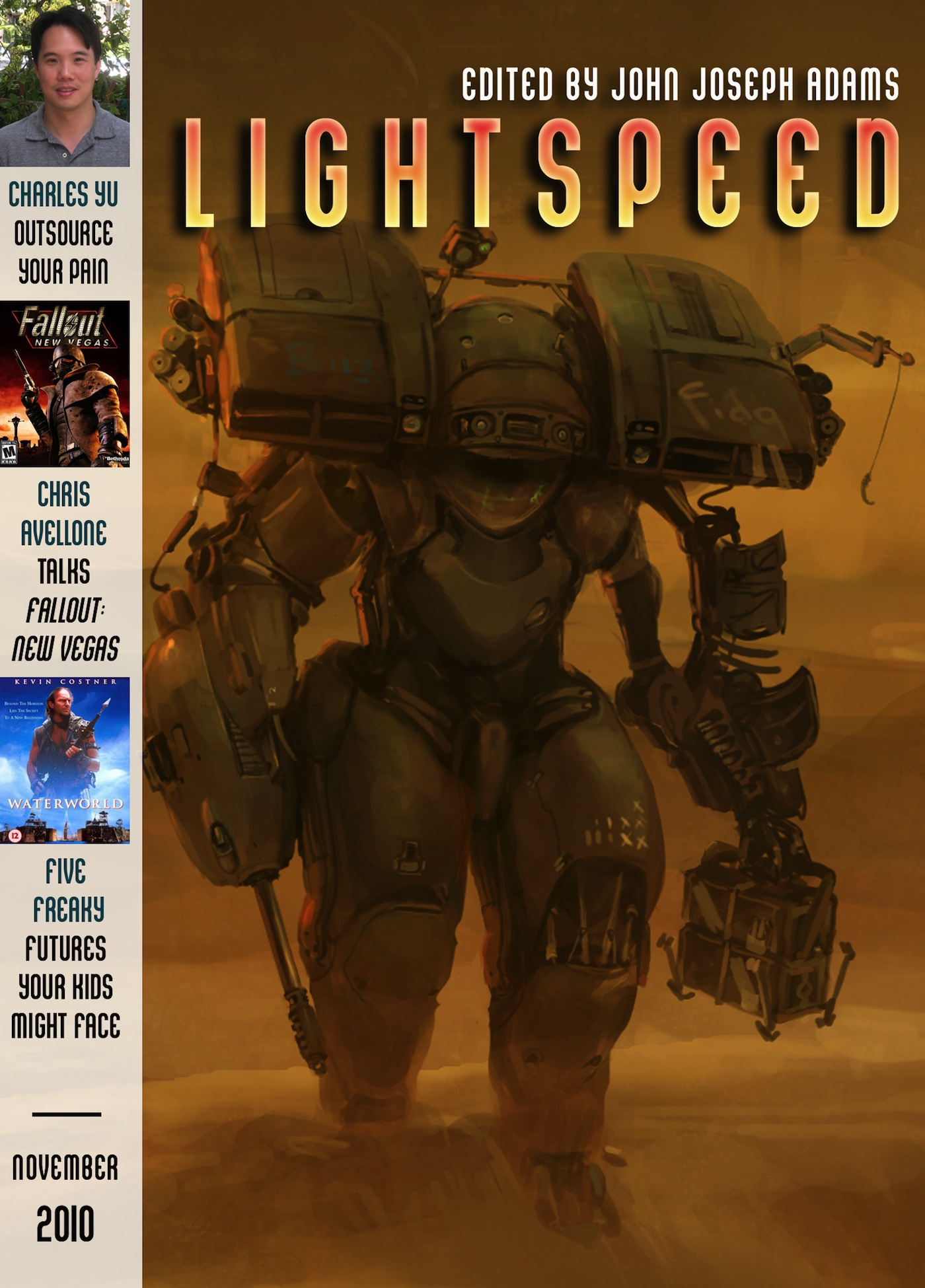 Lightspeed Magazine, November 2010