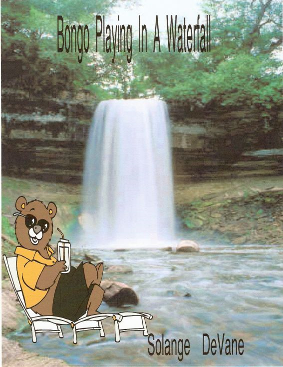 Bongo Playing In a Waterfall