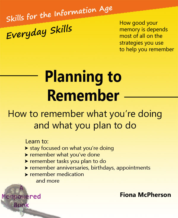 Planning to Remember By: Fiona McPherson