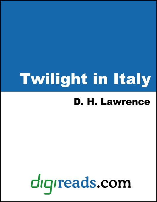 twilight in italy and other essays Twilight in italy and other essays (the cambridge edition of the works of d h lawrence) by d h lawrence editor-paul eggert cambridge university press, 2002-04-11.