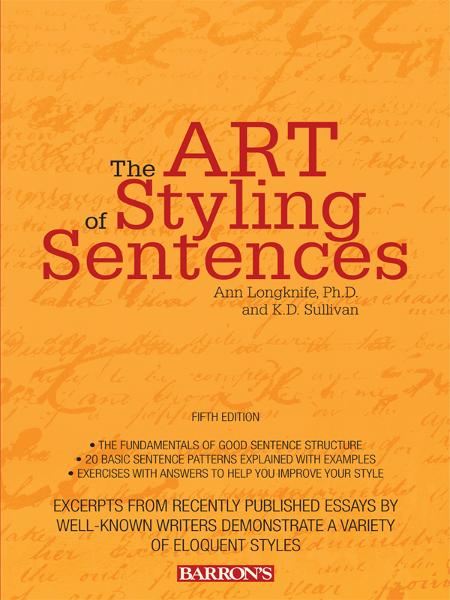 Art of Styling Sentences, 5th edition