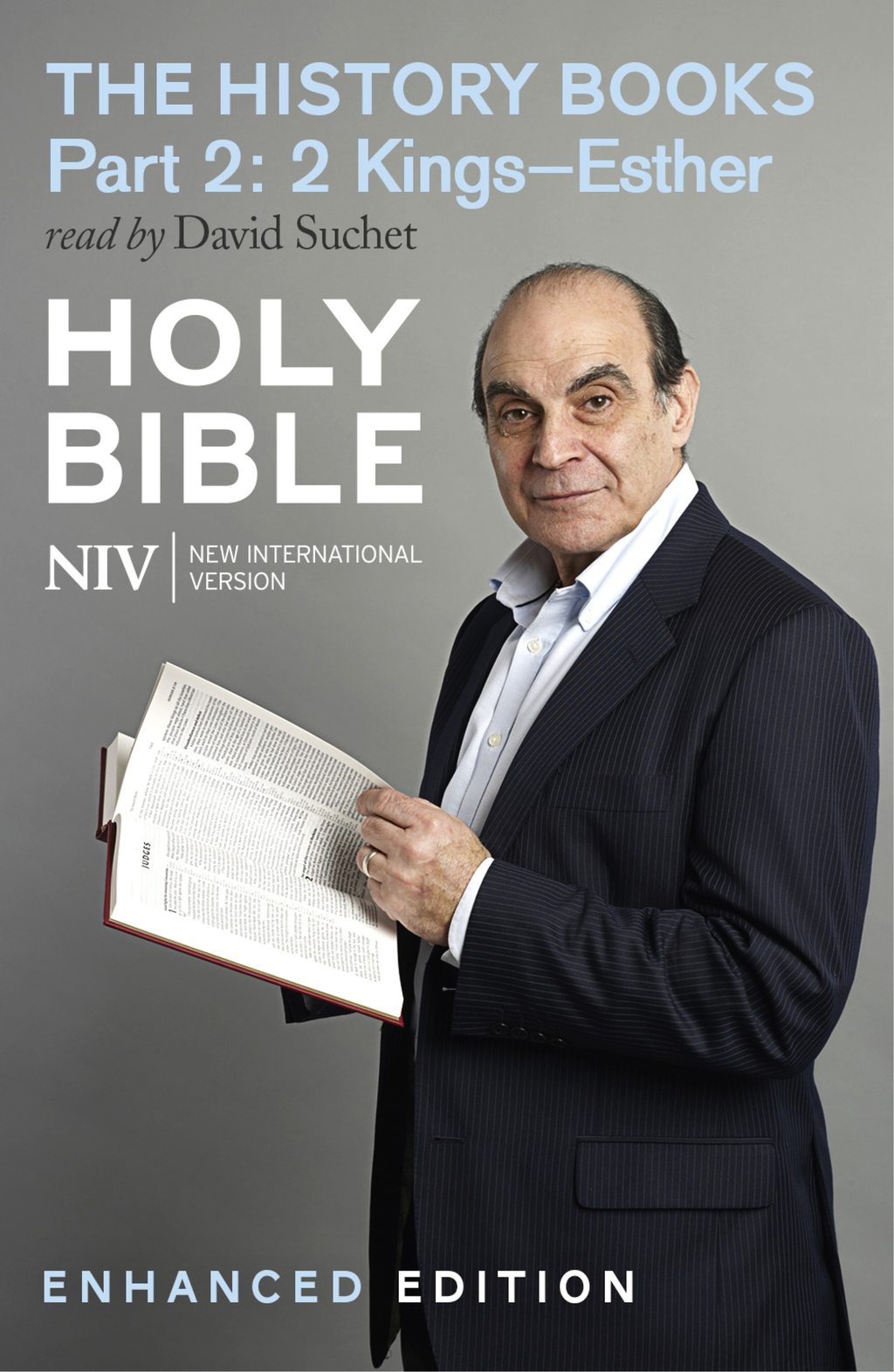NIV Bible: the History Books - Part 2 (Enhanced Edition) 2 Kings?Esther (read by David Suchet) Enhanced Edition