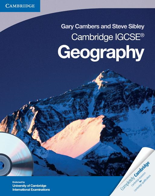 Gary Cambers - Cambridge IGCSE Geography Coursebook with CD-ROM