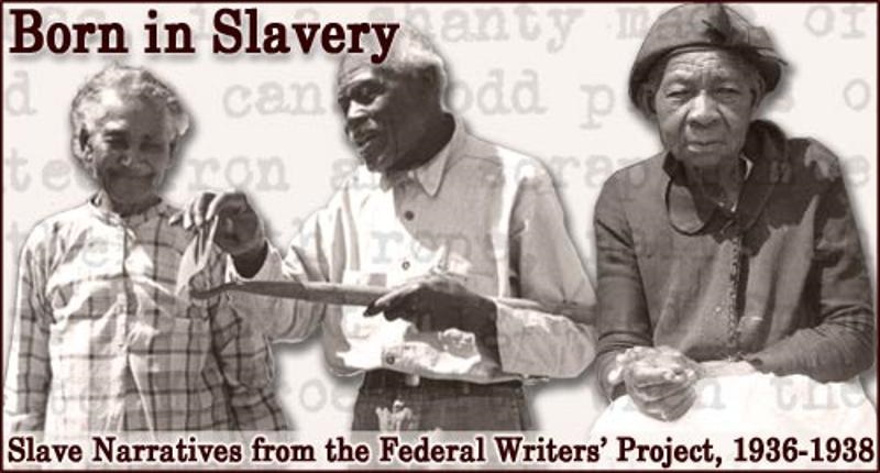 Slave Narratives: Maryland