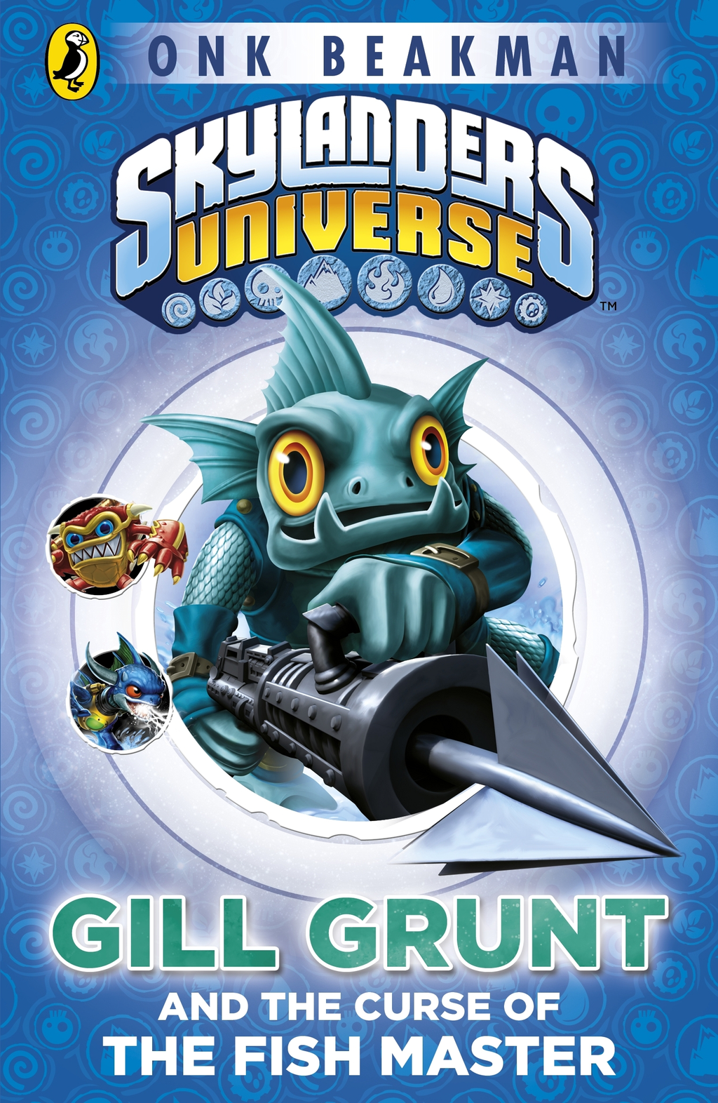 Skylanders Mask of Power: Gill Grunt and the Curse of the Fish Master Book 2