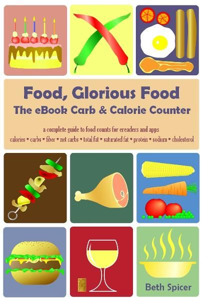 Food, Glorious Food: The eBook Carb & Calorie Counter, a complete guide to food counts for ebook readers & apps