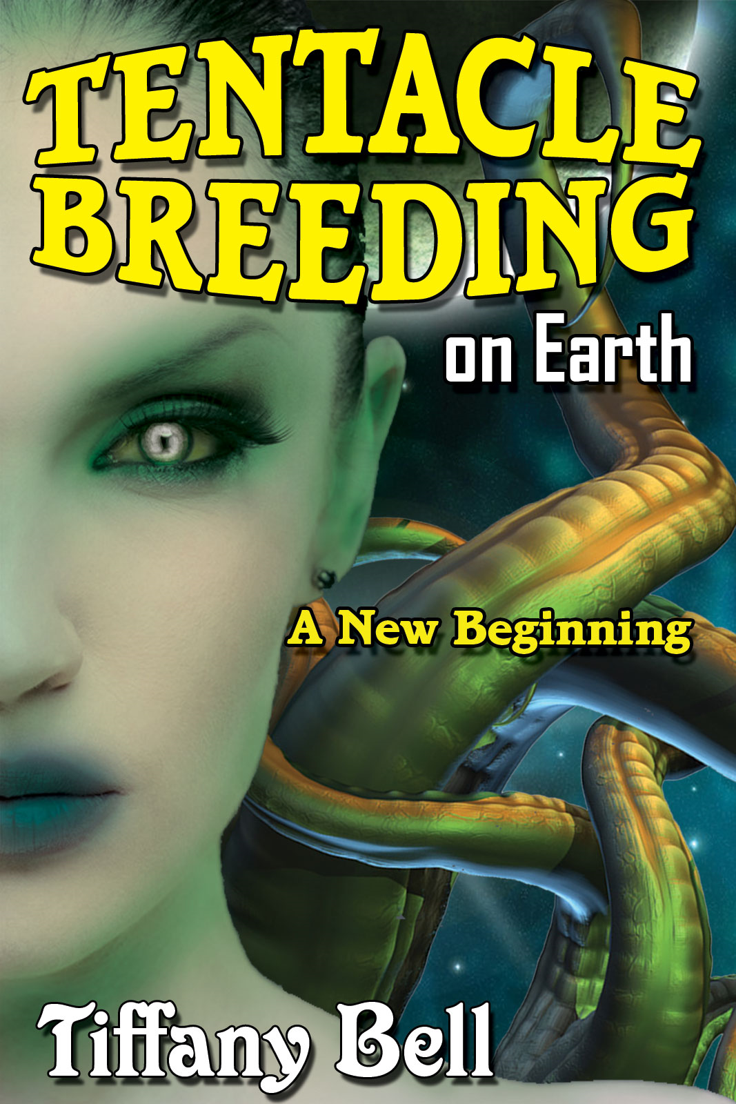 Tentacle Breeding on Earth: A New Beginning (Sci-Fi Futanari Erotica)