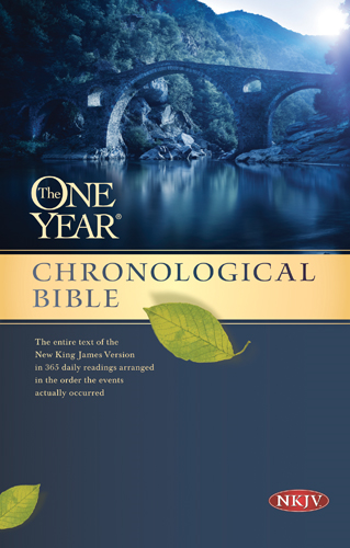 The One Year Chronological Bible NKJV By: Tyndale