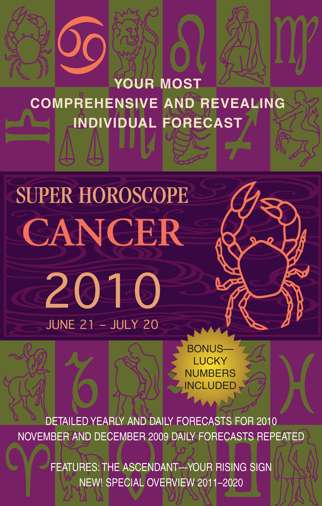 Cancer (Super Horoscopes 2010) By: Margarete Beim