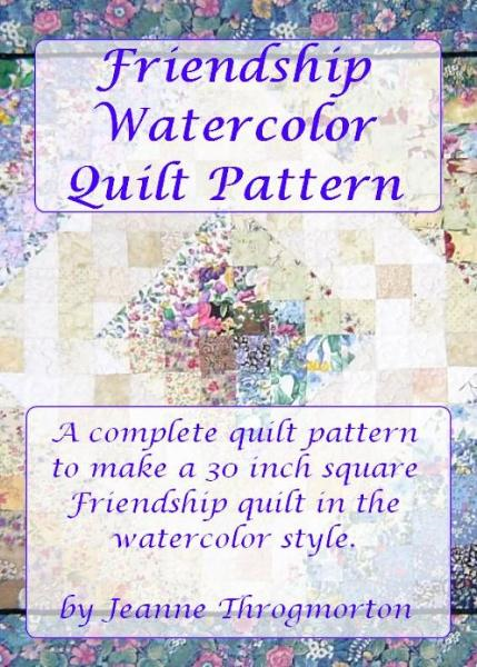 Friendship Watercolor Quilt Pattern