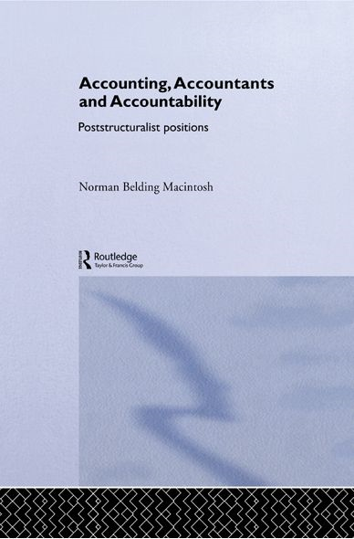 Accounting, Accountants and Accountability