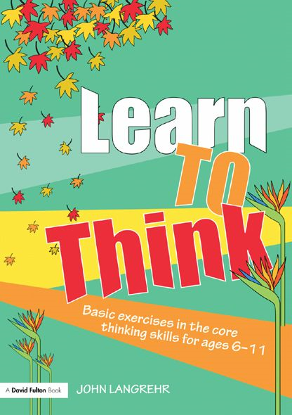 Learn to Think By: John Langrehr