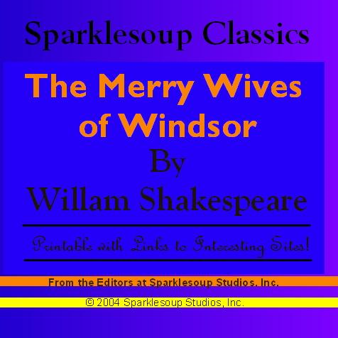 William Shakespeare - The Merry Wives of Windsor (Sparklesoup Classics)