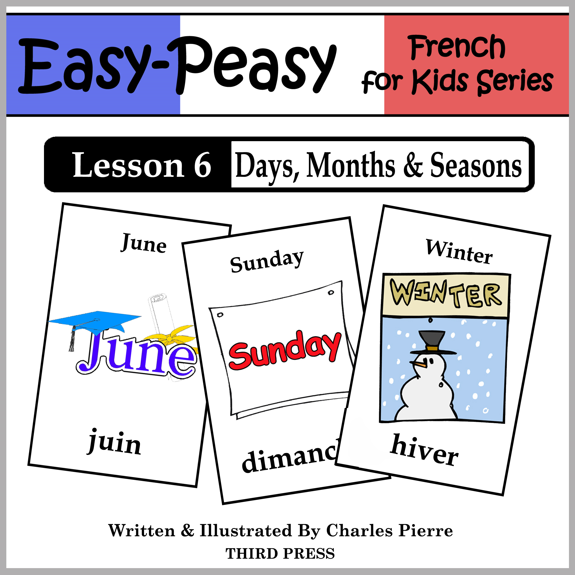 French Lesson 6: Months, Days & Seasons By: Charles Pierre