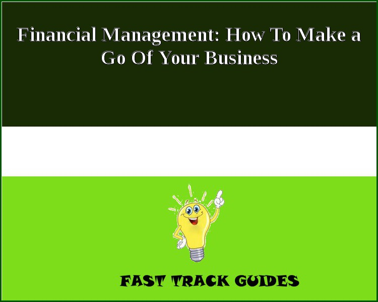 Financial Management: How To Make a Go Of Your Business