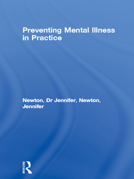 Preventing Mental Illness in Practice