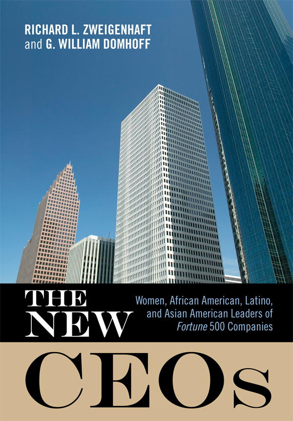 The New CEOs By: G. William Domhoff,Richard L. Zweigenhaft
