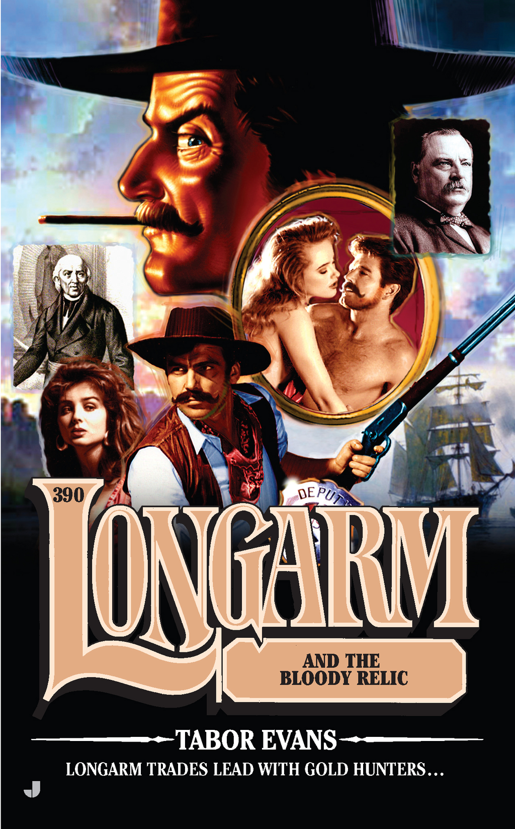 Longarm #390: Longarm and the Bloody Relic By: Tabor Evans