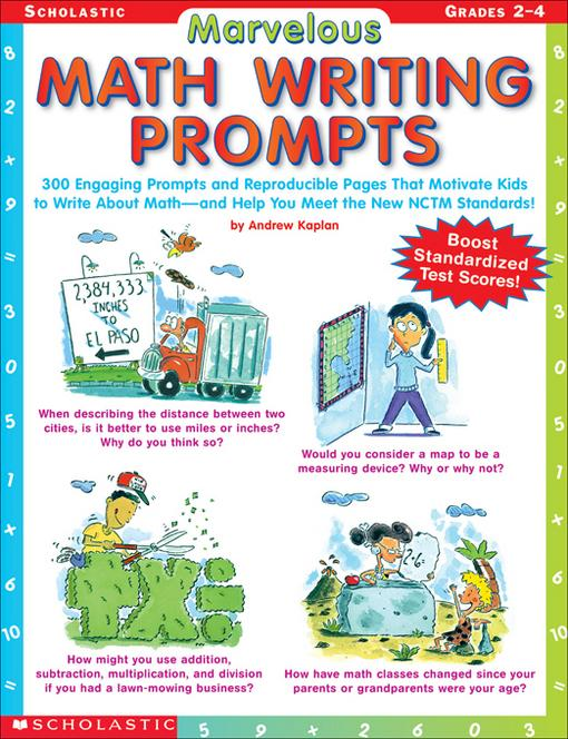 writing prompts for math Browse math writing prompts resources on teachers pay teachers, a marketplace trusted by millions of teachers for original educational resources.