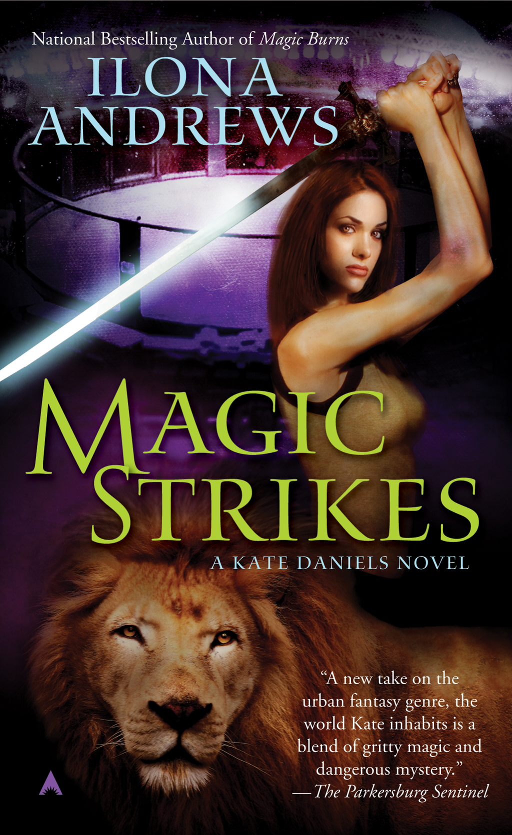 Magic Strikes By: Ilona Andrews
