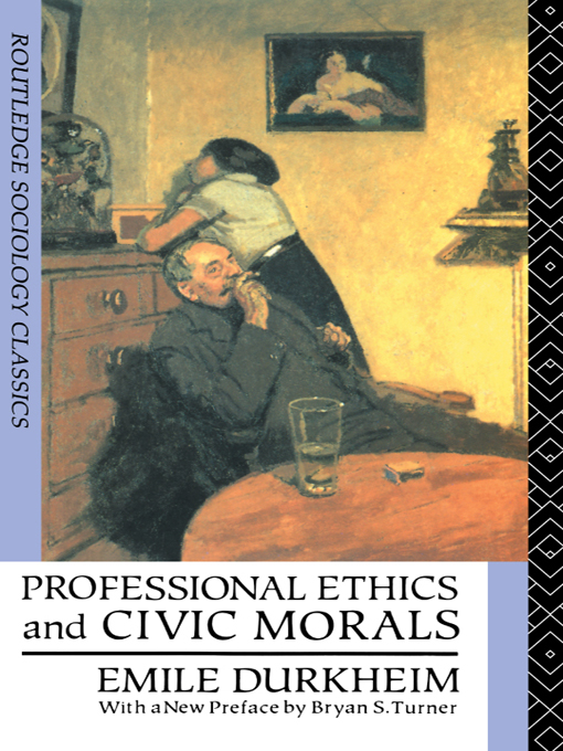Professional Ethics and Civic Morals