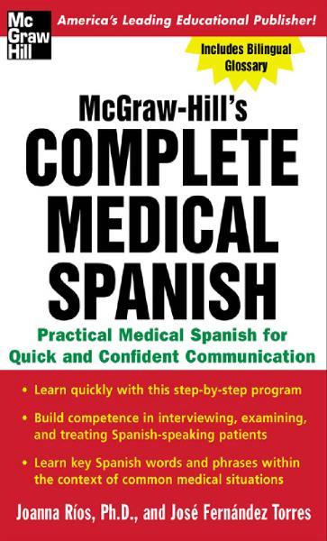 McGraw-Hill's Complete Medical Spanish