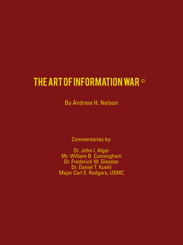 The Art of Information War
