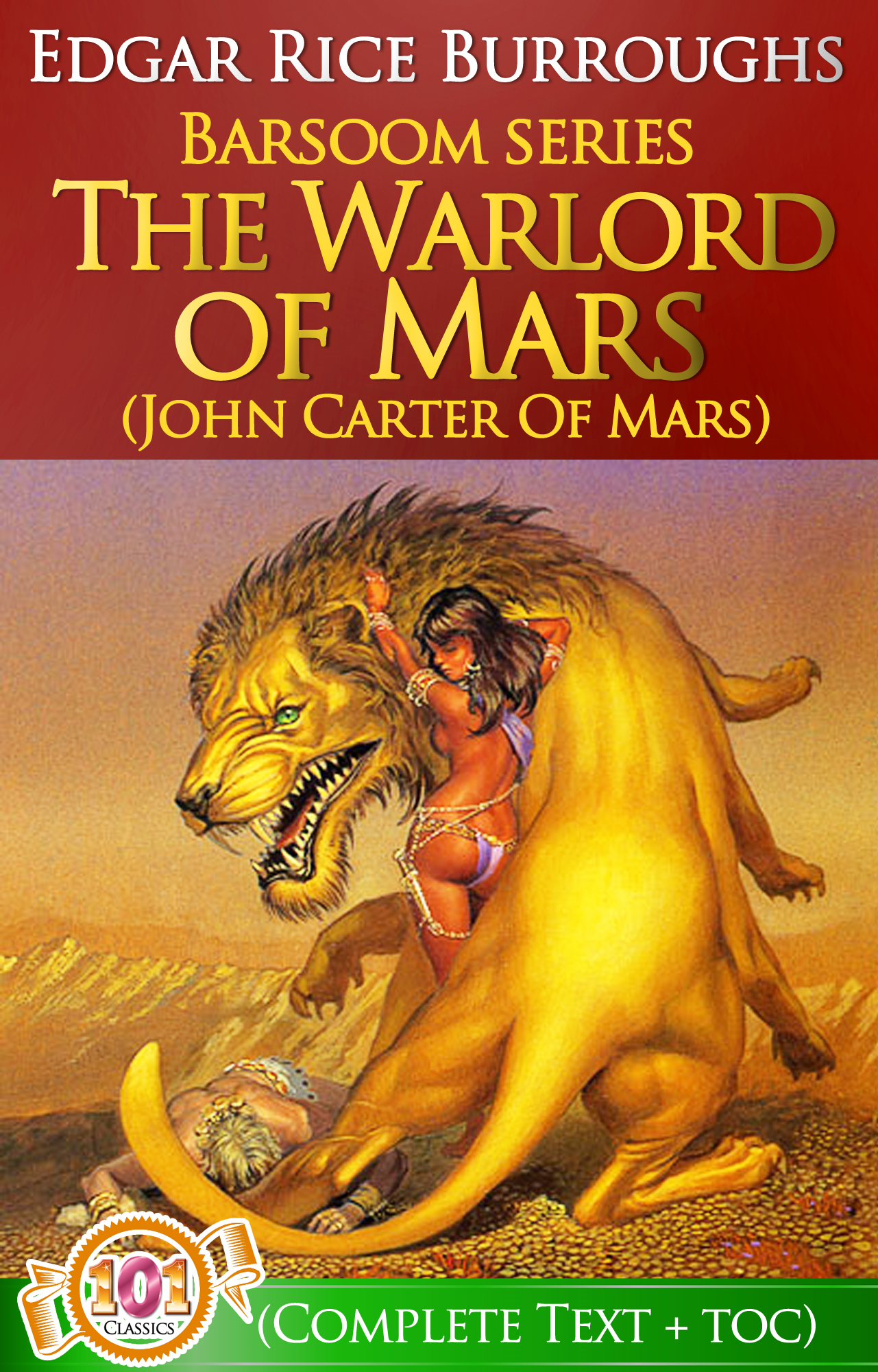 The Warlord of Mars  (Barsoom #3) By: Edgar Rice Burroughs