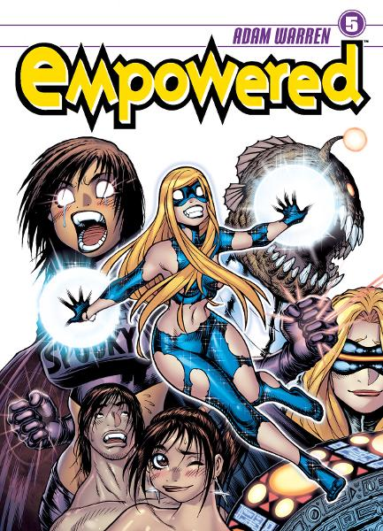 Empowered Volume 5 By: Adam Warren