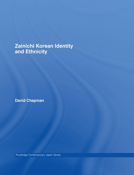 Zainichi Korean Identity and Ethnicity