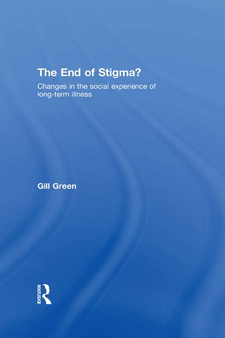The End of Stigma?