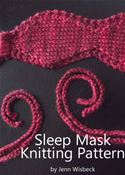 Picture of - Sleep Mask Knitting Pattern
