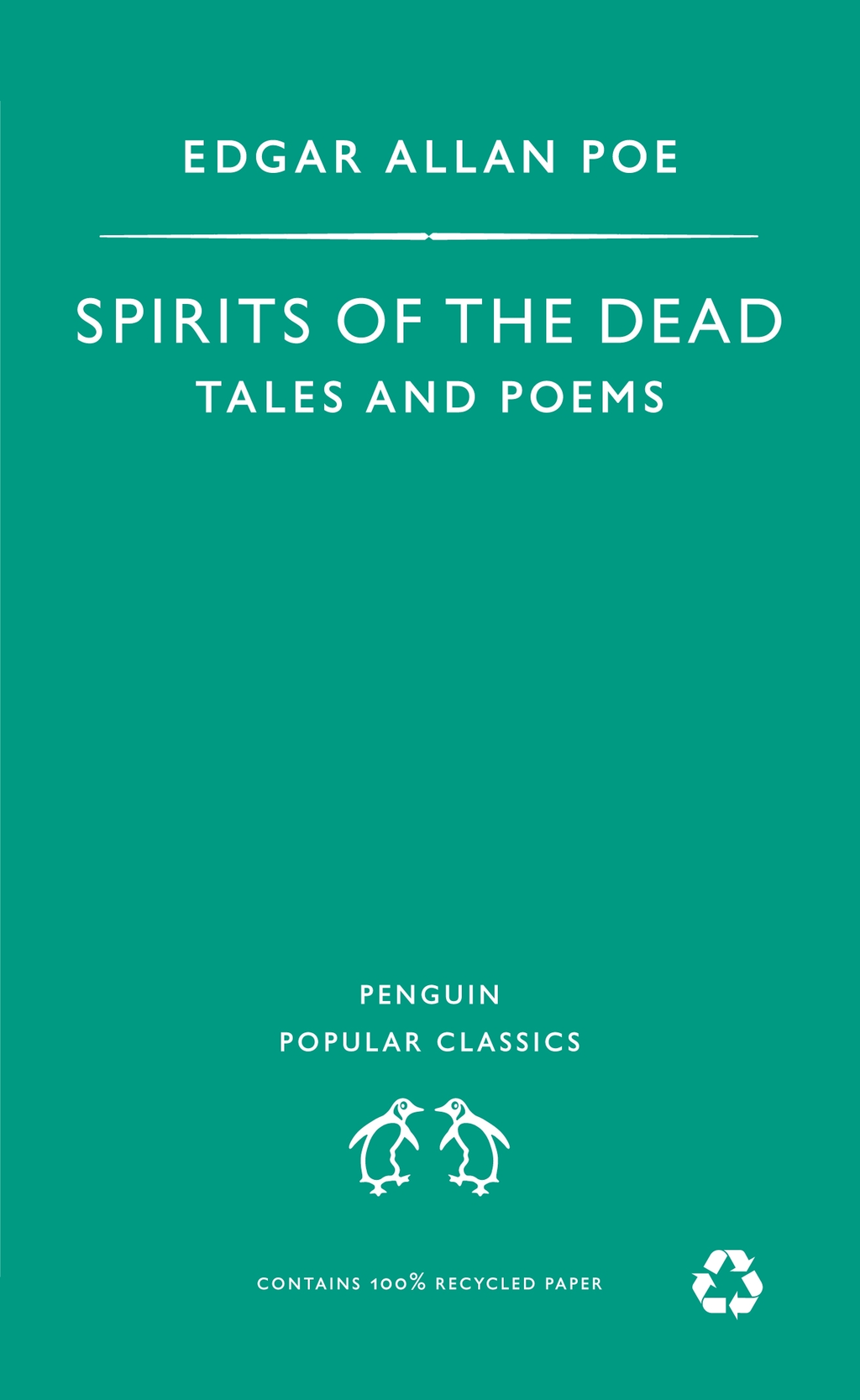 Spirits of the Dead Tales and Poems