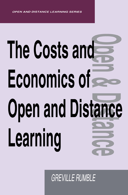 The Costs and Economics of Open and Distance Learning By: Rumble, Greville (Lecturer, Open University)