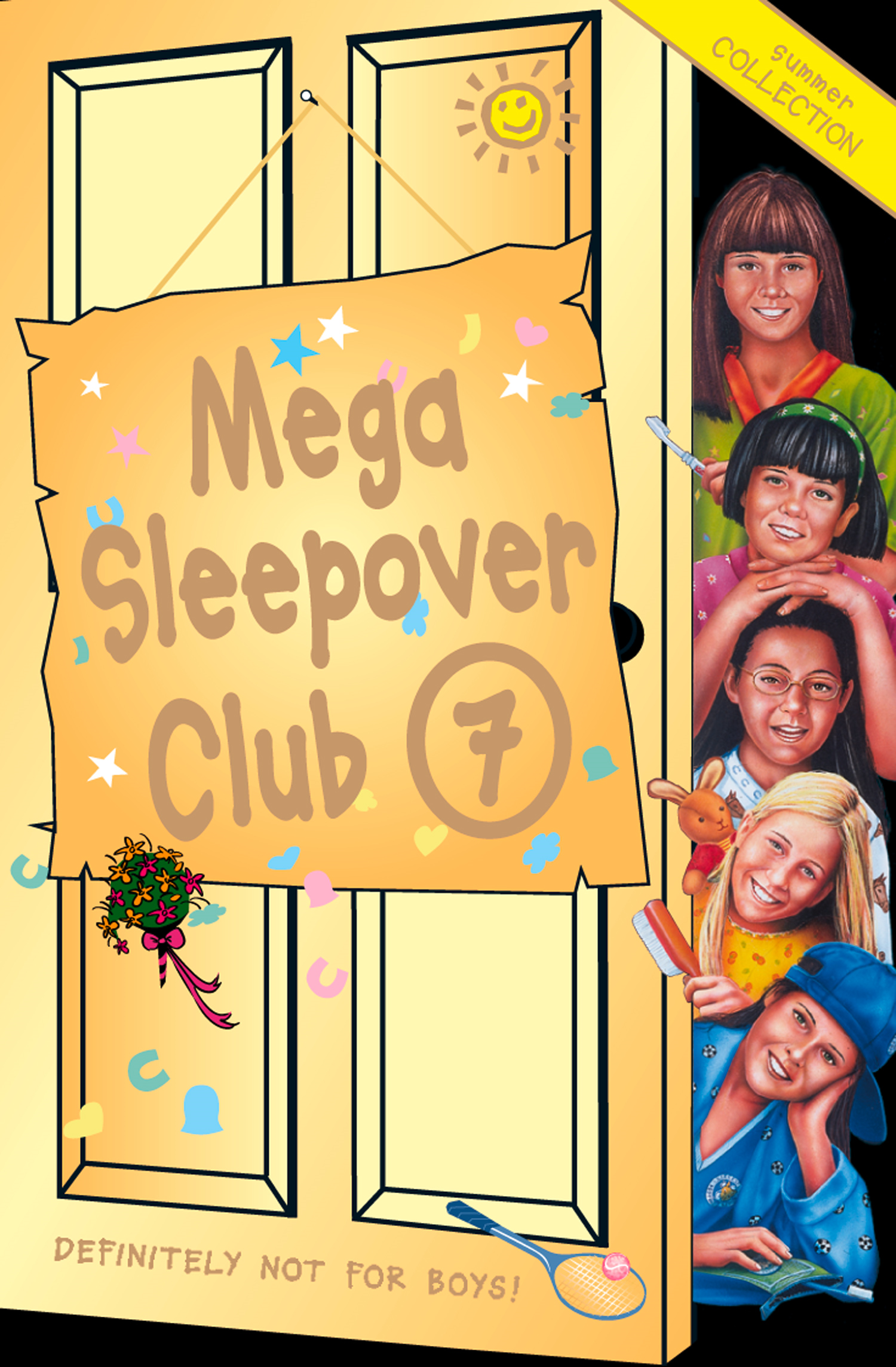 Mega Sleepover 7: Summer Collection (The Sleepover Club)