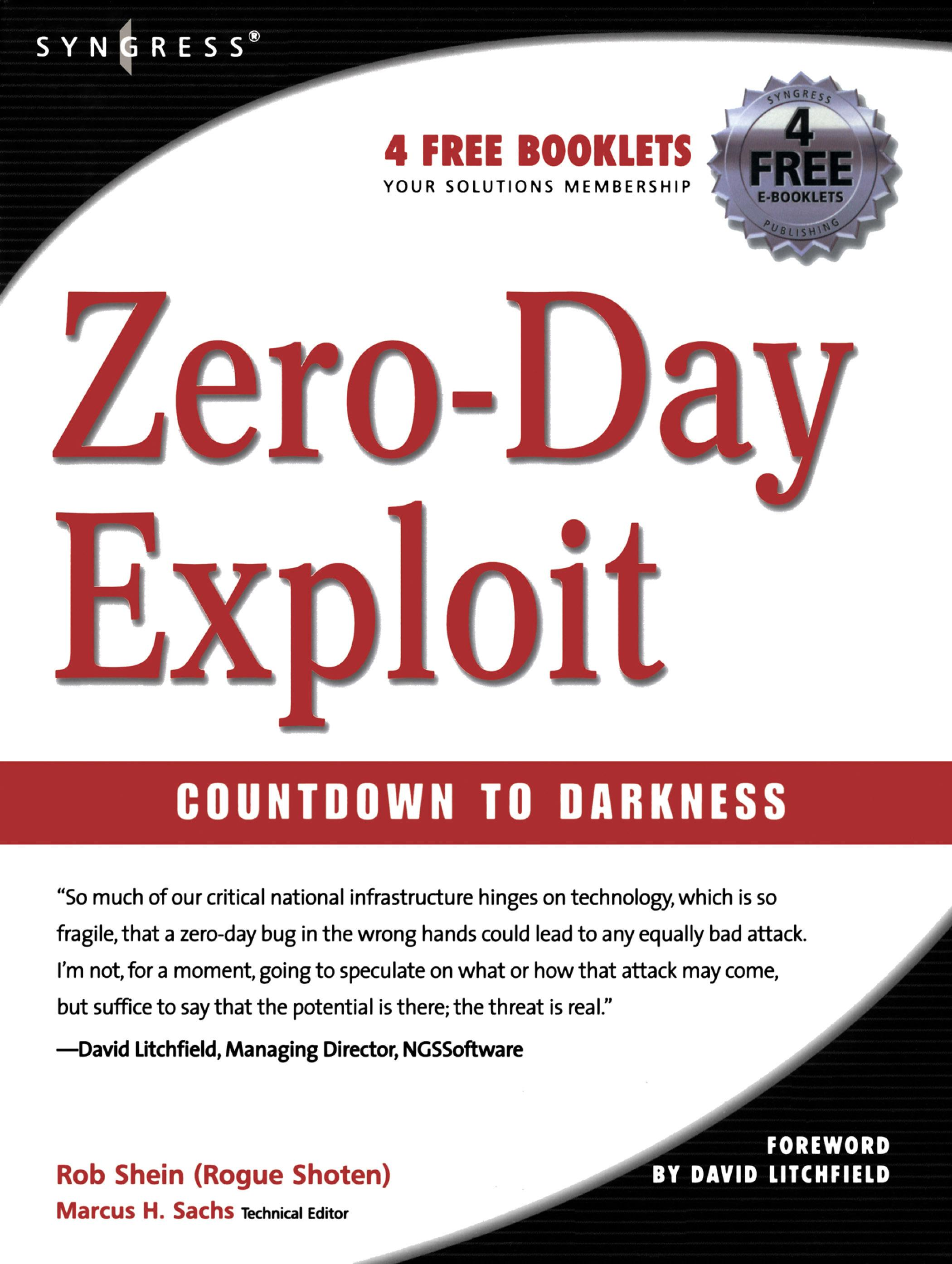 Rob Shein - Zero-Day Exploit:: Countdown to Darkness